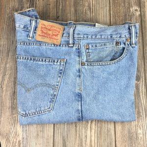 Levi's 505 Vintage Jeans Size 38W-34L Used Nice